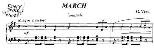 March from Aida